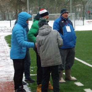 Футбол состоится при любой погоде