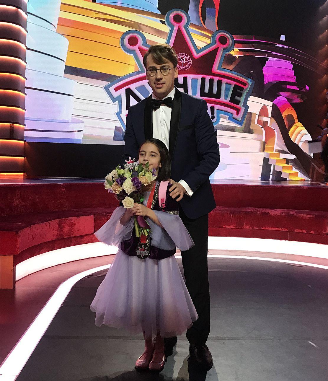 Пятилетняя троицкая певица и композитор выступит у Галкина