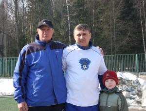 Гордеевы и легенда русского футбола
