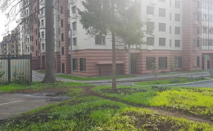 Ещё один загубленный подъезд к домам с улицы Черенкова
