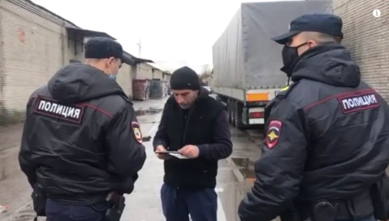 В Новой Москве проходит рейд против нелегальной миграции